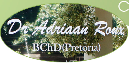 Dr Adriaan Roux BChD ( Pretoria ) - Dentist/Dental Surgeon - Umhlanga